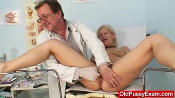 Vaginal and rectal exam - Foxy czech milf samatha chalky cunny checkup