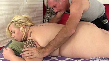 Blonde fatty sex massage pornhub video
