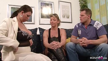 German Mature Join in Threesome with MILF Wife and Husband 16 min