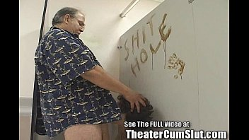 Free filthy sluts - Kassy sucks cock in bookstore mens room for cumshots
