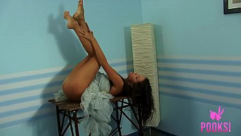 Beautiful Brunette Cofi Milan Teases In A Ballet Outfit!