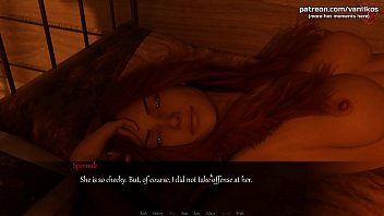 Hot redhead girlfriend with beautiful boobs and a gorgeous ass sucks a big cock and gets a huge load of cum in her slutty mouth l My sexiest gameplay moments l Life's Madness l Part #1