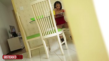 Stepfather films stepdaughter having lunch without panties