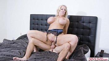 "Cuckold threesome with big tit pornstar Alura Jenson <span class=""duration"">12 min</span>"