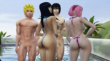 Wife Exchange With Hinata and Sakura Naruto Hentai Pool Day Download Game Here: http://bit.ly/GamerPran