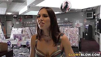 Aidra Fox Receives Creampie By A BBC at Gloryhole