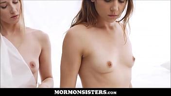 Mormon Girl Pleasures Her Church Sister With A Glass Dildo