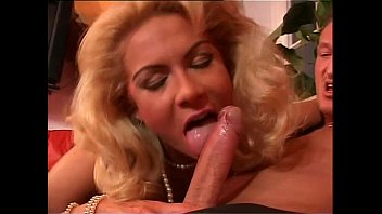 Wonderful blonde milf has a special gift for you!