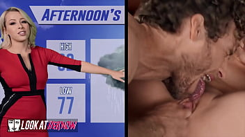 Meteorologist (Zoey Monroe) Warns Of Humidity Sliding In As (Michael Vegas) Slides His Cock In Her Pussy - Look Ather Now 10分钟