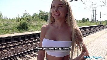 Public Agent Train Station Public Sex With Beautiful Woman