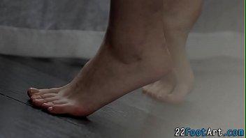 Sweethearts feet banged