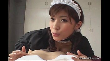 Horny asian maids Horny japanese maid give the best blowjob ever uncensored
