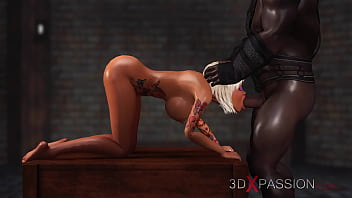 Captive slave porn 3dxpassion.com. schoolgirl get fucked hard by black man in the dungeon