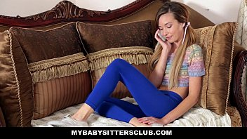 Myb.SittersClub - Skinny b. Sitter (Kylie Nicole) Caught Making Out With Her BF