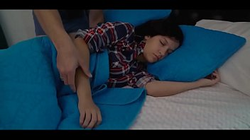 Sweet Teen Caught by Dad in Bed Anikka Eve thumbnail