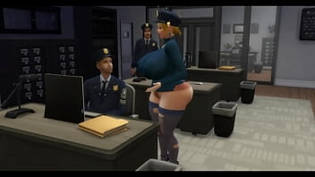 Cowgirl wife fucked near husband by co-worker