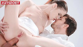 LETSDOEIT - Gorgeous Babe Lovenia Lux Anal Prepared For Eager Kristof Cale