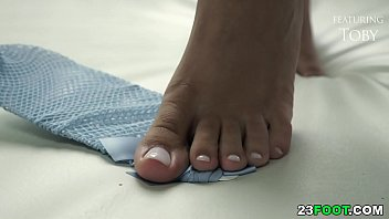 Sexy foot fetish porn makes you hard 6 min