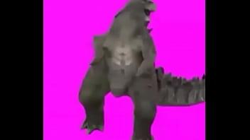 Dinosaur porno Baila de dinosaurio antes del apareamiento