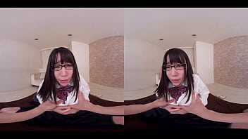 Yuu-chan, a girl with glasses who came to the clinic for treatment, was sexually harassed, blamed her tits and observed her anal sexually!