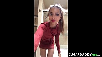 SugarDaddy DESTROYS materialistic Latina teen With BIG ASS