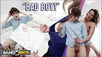 Mom pussy on boy face Bangbros - jesse, bad boy, stepmom helena price is gonna punish you