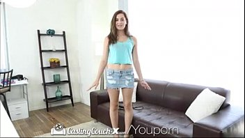 YouPorn - HD CastingCouch X 18 Years old Kasey is ready to be a pornstar