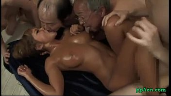 Girls making out porn - Hot tanned asian girl fucked by guy while kissing with ugly men cum to mouth sti