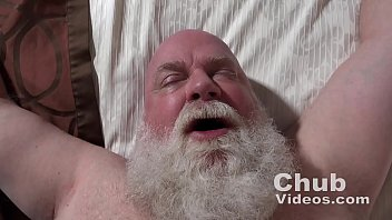 Gay hairy grandpa free video clips Daddy likes cum
