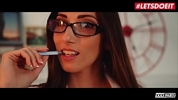 Letsdoeit - #clea Gaultier #anthony Gaultier - Lucky Guy Gets To Fuck On Interview With His Feature French Babe Boss