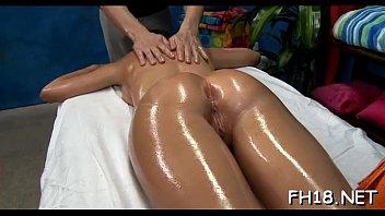 Penis during erection - Erection during massage