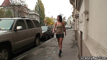 He choose 70 years old prostitute instead young one