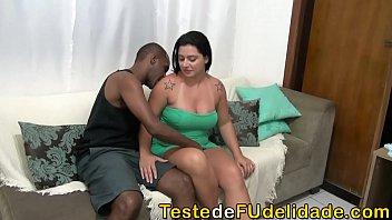 Monica Lima transando com seu Fã