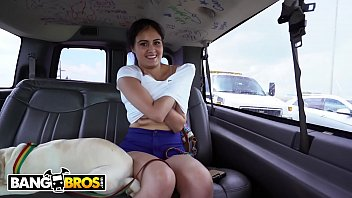BANGBROS - Grand Theft Canine On The Bang Bus with Jeleana!