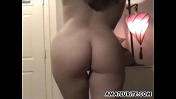 Cute brunette girlfriend in homemade POV hardcore action