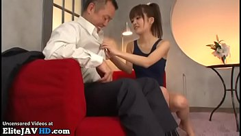 Japanese tiny 18yo masseuse gets cum in mouth