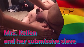 """Mrs. Kellen and her submissive slave <span class=""""duration"""">9 min</span>"""