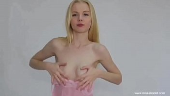 Handbra hand bra Mila covering nipples with hands