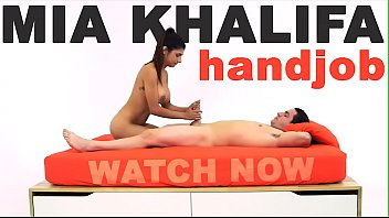 Candice mia handjobs - Mia khalifa - arab goddess performs expert level handjob on peter green