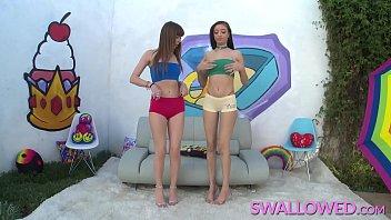 SWALLOWED Sloppy blowjob from Scarlett and Alex 12 min