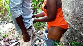 Rodrigo Fucked His Village Lover Chioma In The Bush And The