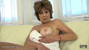 Granny has sex with black man and enjoys ass drilling and cum licking thumbnail