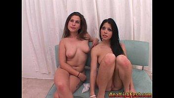 Rebeca Linares & Bianca Anal Lick Fest  FULL VERSION