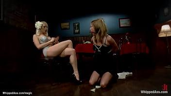 Lesbian singer strikes with money sub