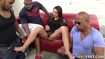 Black fetish foot pic Giselle leon interracial foot fetish