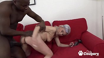 Slutty Granny Kathy White Gets An Anal Creampie From A Horny Black Man thumbnail