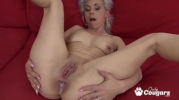 Black granny vagina - Slutty granny kathy white gets an anal creampie from a horny black man