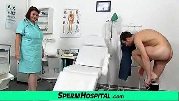 Eva A Czech Big Natural Tits Doctor Lady