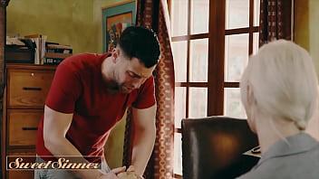 Horny Milf (Syren De Mer) Fucks Her Friends Son (Tyler Nixon) - Sweet Sinner thumbnail