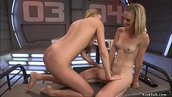Lesbians fucking machines and squirting